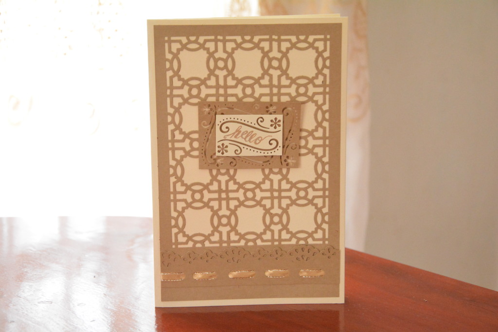 Caning Pattern Card